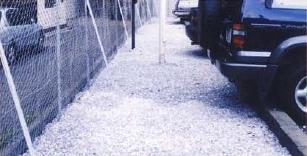 駐車場の砂利の下にザバーンを敷いたメリット